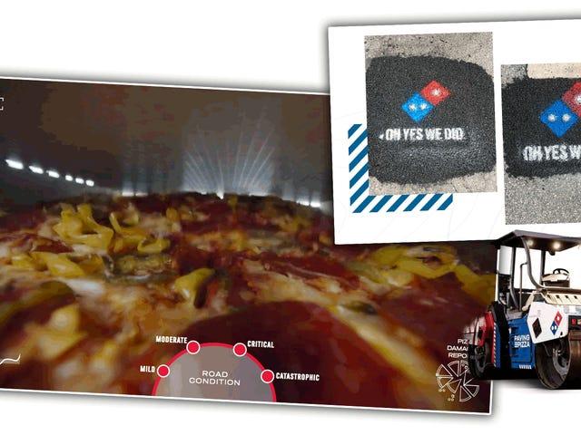 ドミノはピザの安全のためにアメリカの低俗な道を固定している。それはかなり恥ずかしい <em></em>