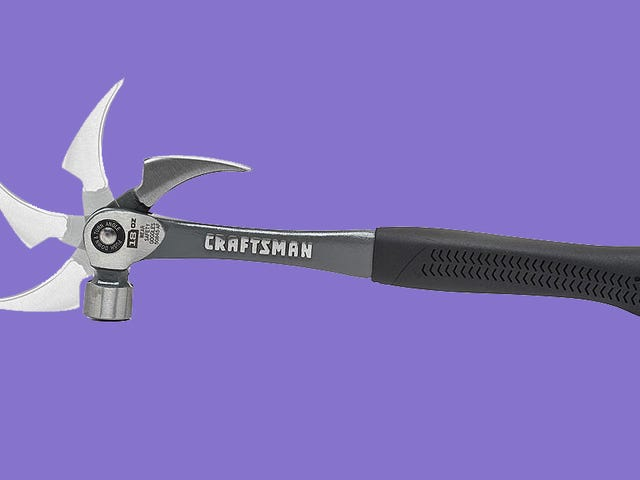 Craftsman's New Hammer Uses an Adjustable Claw to Maximize Prying Leverage