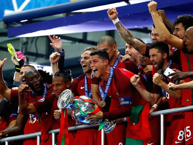 Cristiano Ronaldo Dominated The Euro 2016 Final Without Even Playing
