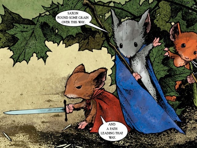 The Writer of Rogue One Will Pen the Adaptation of Graphic Novel Mouse Guard