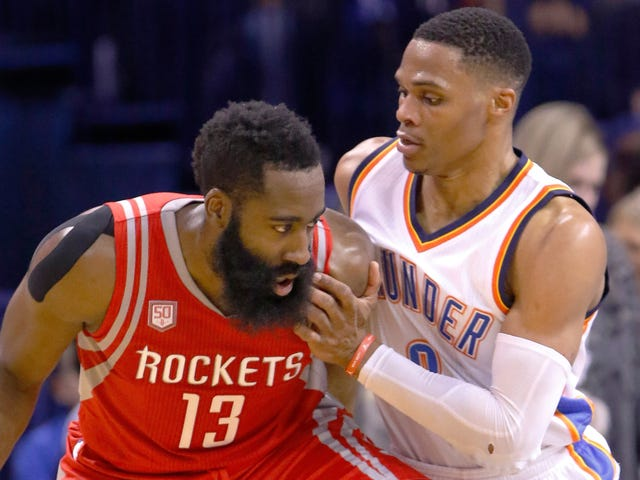 I missili riuniscono Russell Westbrook e James Harden, esilio Chris Paul al fulmine del commercio