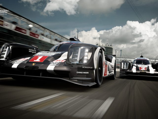 Yeah yeah yeah, great, the 919 is in GT Sport