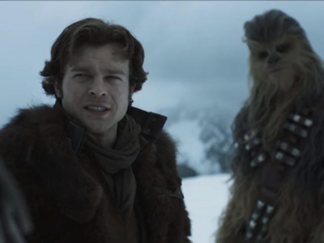 He's Going Solo and Chewbacca is Going with Him