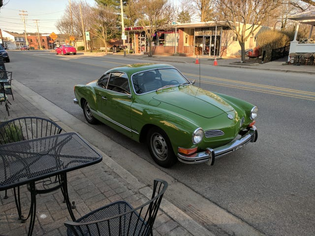 Took the Ghia on its first outing of the year