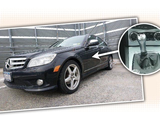 Ini Mercedes-Benz C300 2008 Adakah Unicorn Manual Enam Kelajuan