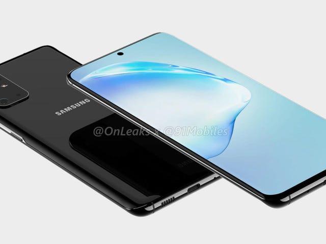 Ze hebben de Samsung Galaxy S20 camera nieuwigheden reverse-engineerd
