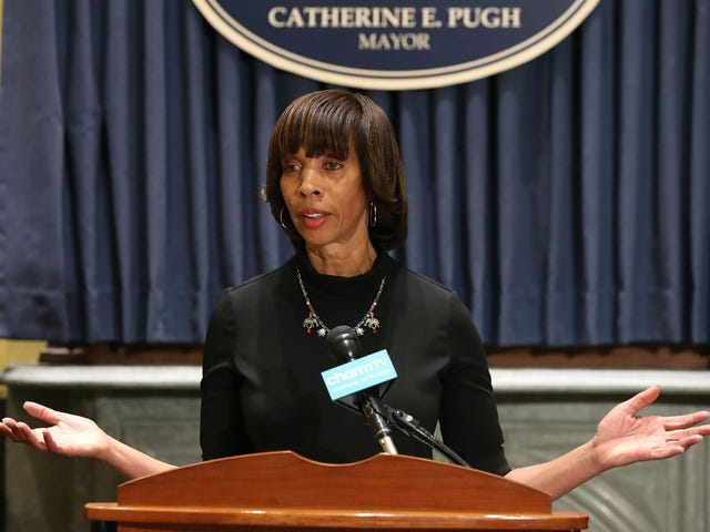 Baltimore Mayor Catherine Pugh Reportedly Not 'Lucid' Enough to Make a Decision on Resigning