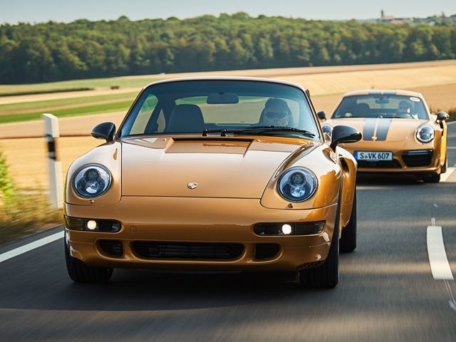 Porsche's 'Project Gold' Is a Restored Air-Cooled 993 Turbo S to Be Auctioned Off