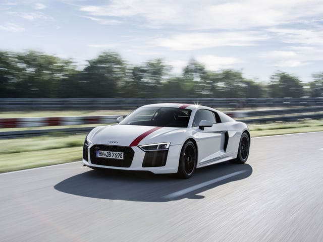 "Audi R8 RWS- The Audi for ""Purists""?"