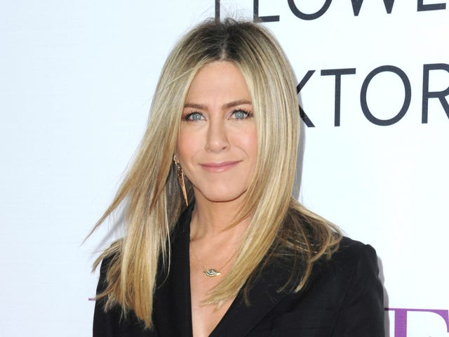 Jennifer Aniston on Rachel's Nipples: I Don't Know What to Tell Ya