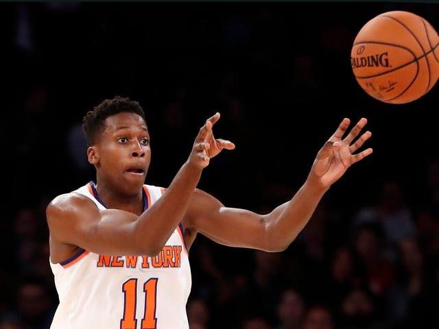 The Brain-Poisoned Knicks Fan's Case For Frank Ntilikina