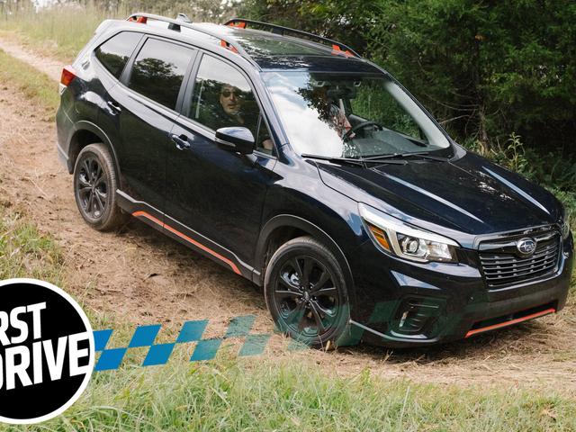 2019 Subaru Forester Виглядає Tougher та Rides Краще, але Desperate для Сили