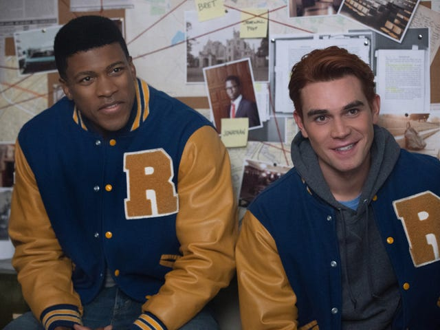 High school rivalries heat up when Riverdale gets the Varsity Blues
