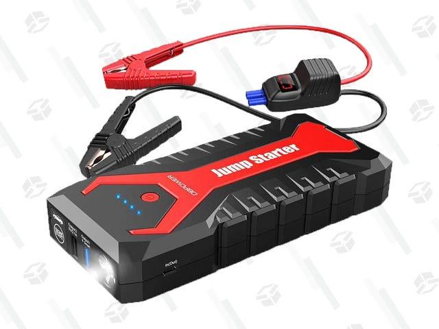 Coge un Jump Starter portátil para asegurarte de que estás preparado para baterías agotadas