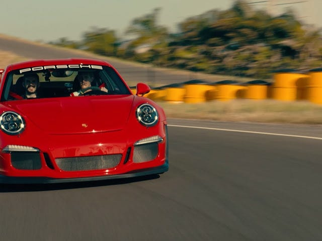 A Porsche Racer's Leisurely Sunday Drive Feels A Lot Like Our Le Mans