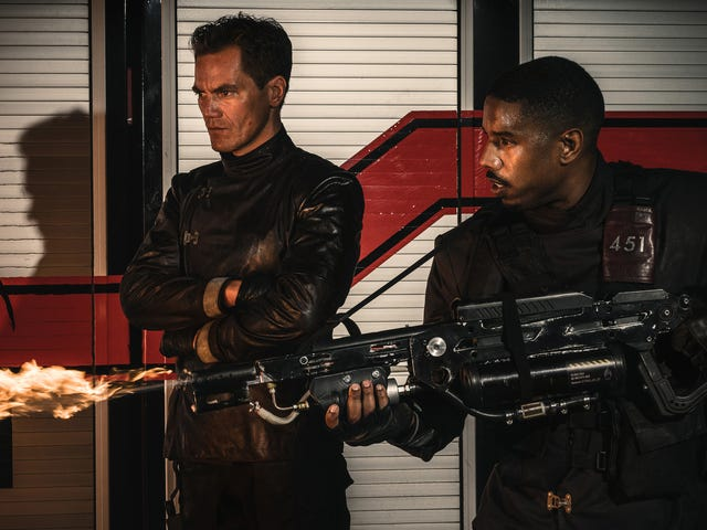 Even with Michael B. Jordan in the lead, Fahrenheit 451 fails to generate much heat