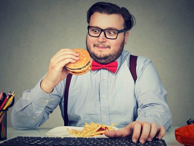 Bezpłatne jedzenie biurowe to nasz kryptonit
