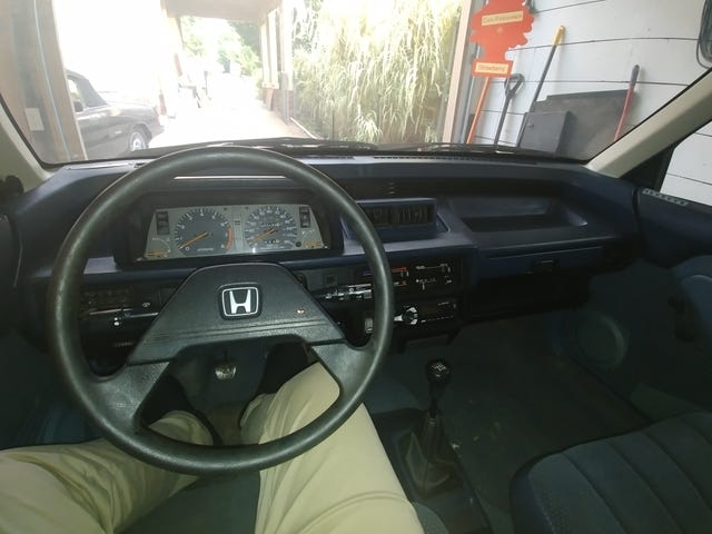 I kinda miss driving the Civic