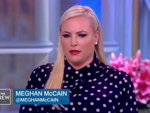 Meghan McCain Meghan McCained Again, So Whoopi Shut That Shit Up By Cutting to a Commercial