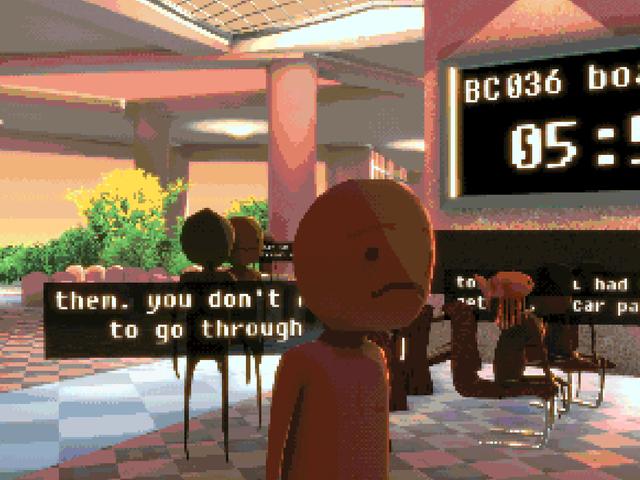 Sebuah Permainan Tentang Nightmare Itu Terjebak Di Lapangan Terbang