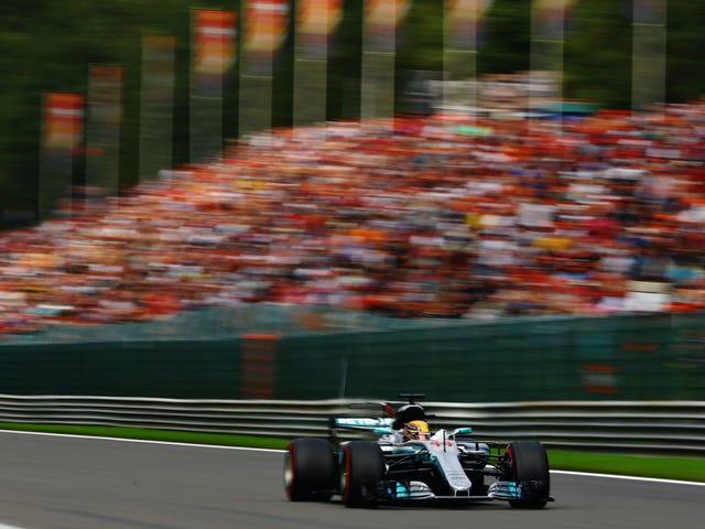 Lewis Hamilton quebra o histórico em Spa-Francorchamps na classificação