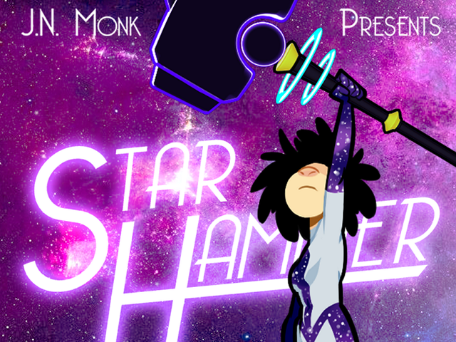 Starhammer the Great New Super Hero Comic