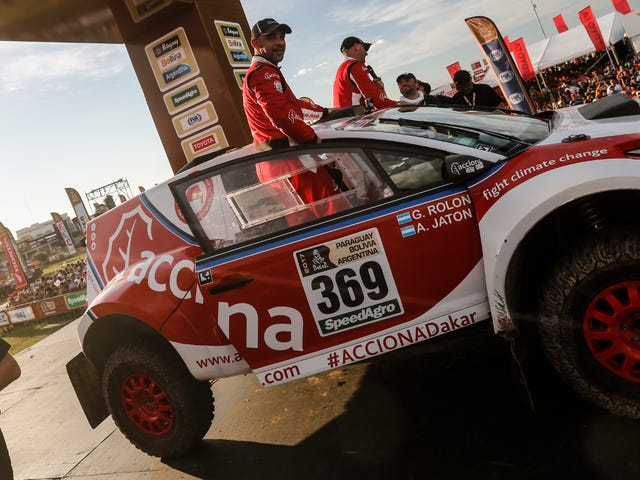 An Electric Car Finished The Grueling Dakar Rally For The First Time Ever