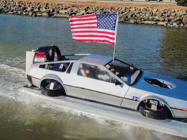 NPoCP: DeLorean Hovercraft