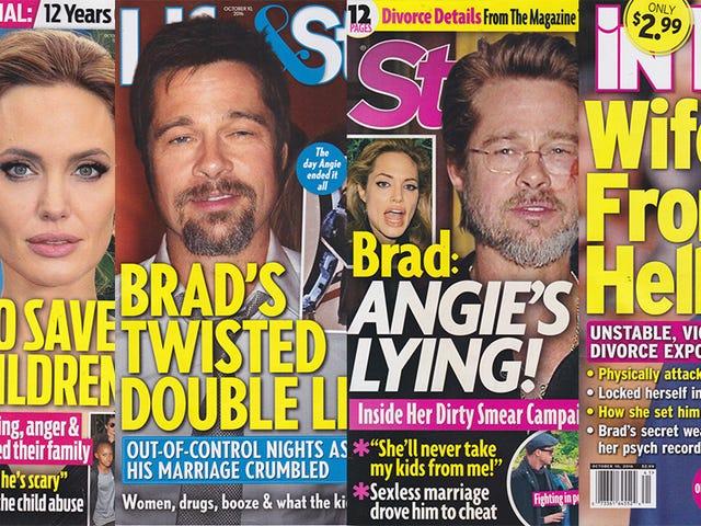Minggu Ini Di Tabloids: Dua Mags Adakah Pro-Angie, Dua Mags Adakah Pro-Brad, & Tidak Ada Mereka Yang Mestilah