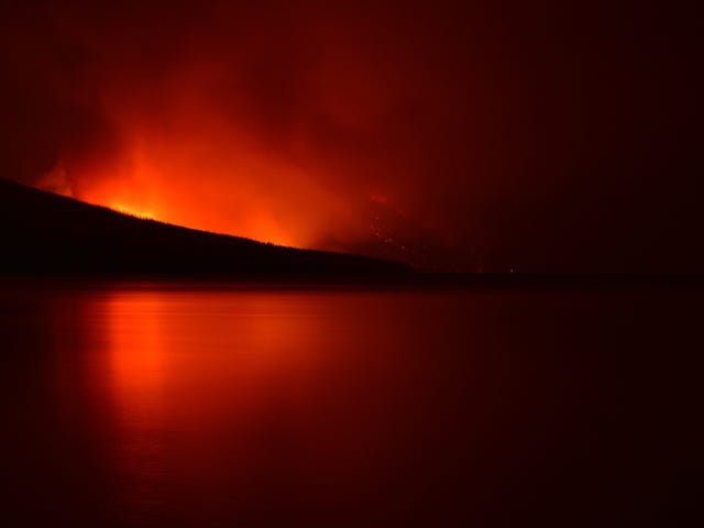 Glacier National Park Is on Fire
