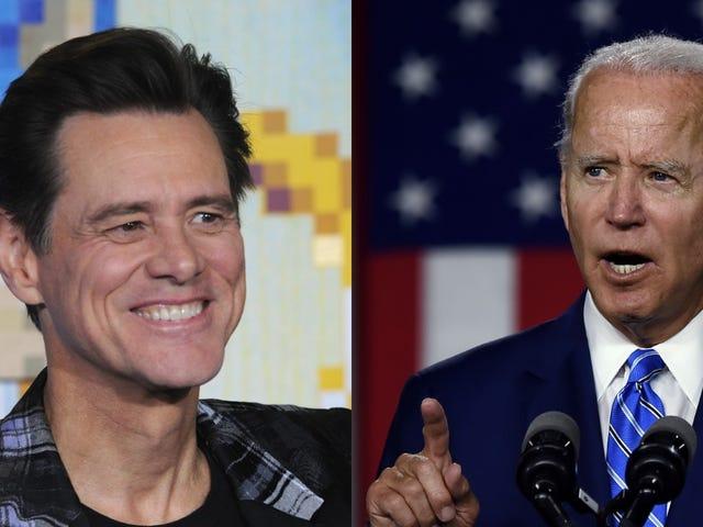 Jim Carrey é Joe Biden do SNL e já estamos exaustos
