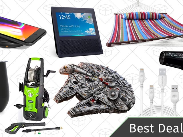 Thursday's Best Deals: Mother's Day Gifts, Pressure Washer, Qi Charger, and More