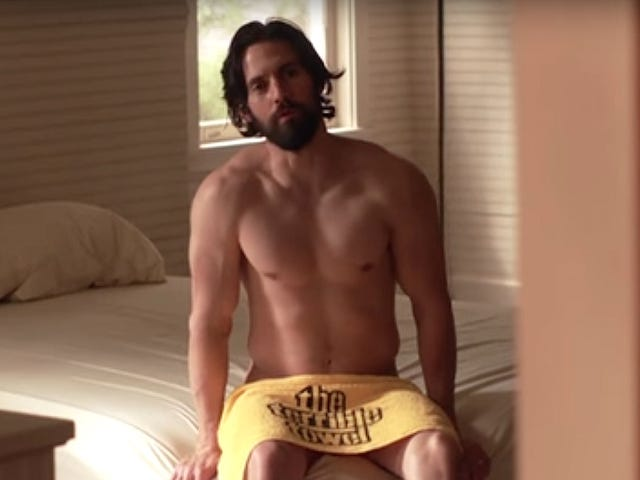 Milo Ventimiglia Was Not Expecting to See His Hiney in the This Is Us Trailer