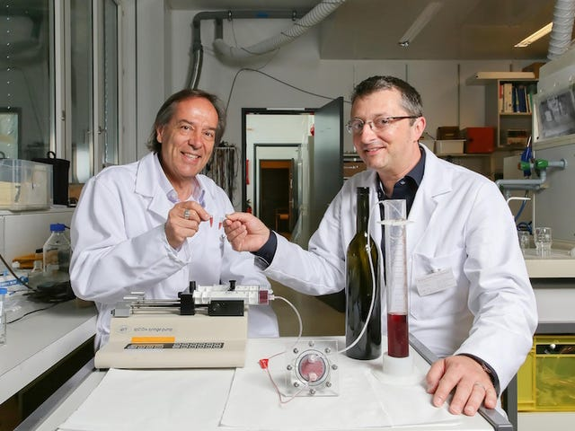 Magical Device Produces a Constant Supply of Wine