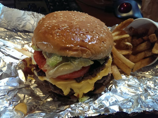 Oppo Review : Five Guys - Day One