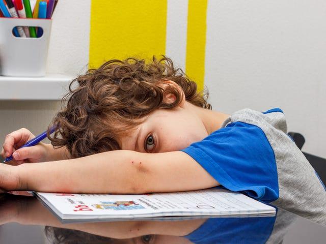 Bør du velge bort barnet ditt fra lekser?