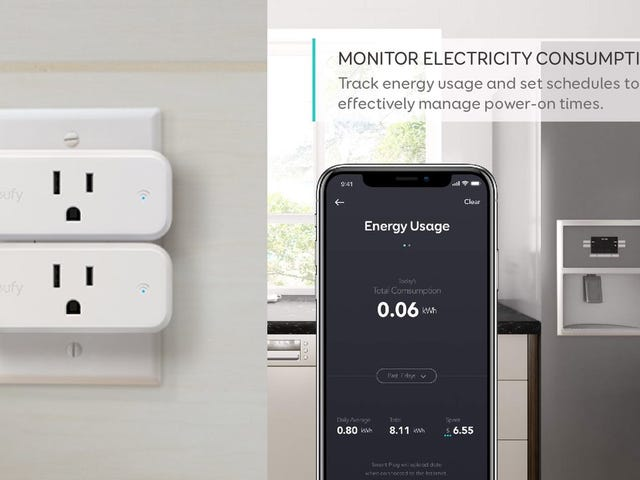 Anker's Energy-Monitoring Smart Plugs Have Never Been Cheaper