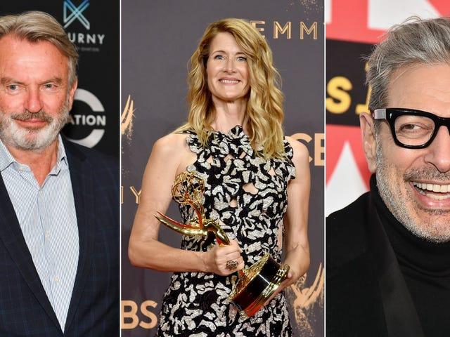 Sam Neill, Laura Dern ve Jeff Goldblum Jurassic World 3'e girerken