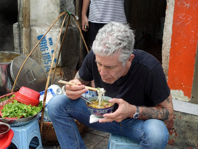 Parts Unknown, season 8: Noodles with the leader of the free world