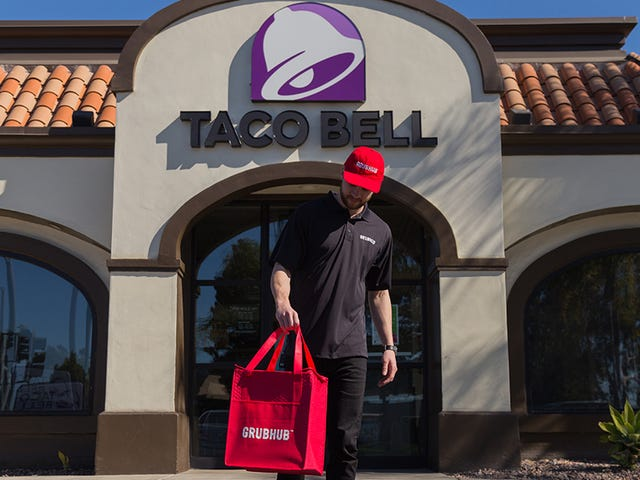 Taco Bell delivers