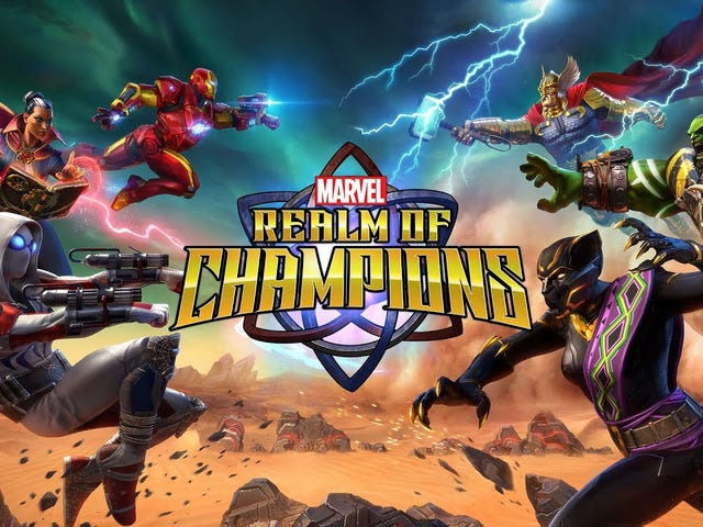 Coming next year from Kabam, the makers of Marvel: Contest of Champions, Marvel: Realm of Champions