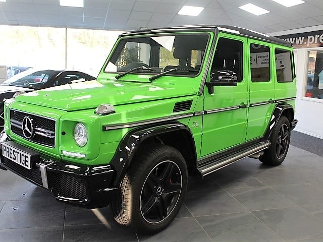 How to spec your G wagon.