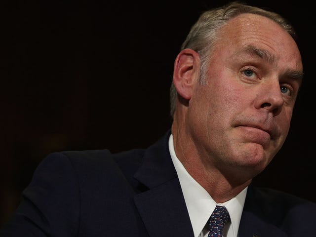 Ryan Zinke Accuses Employees of Disloyalty to 'The Flag' While Speaking at Oil Industry Event