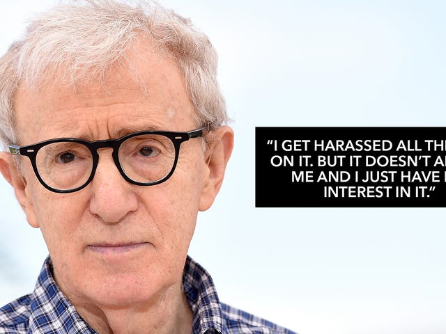 Woody Allen Addresses Abuse Abuse: 'I Find That All Tabloid Stupidity'