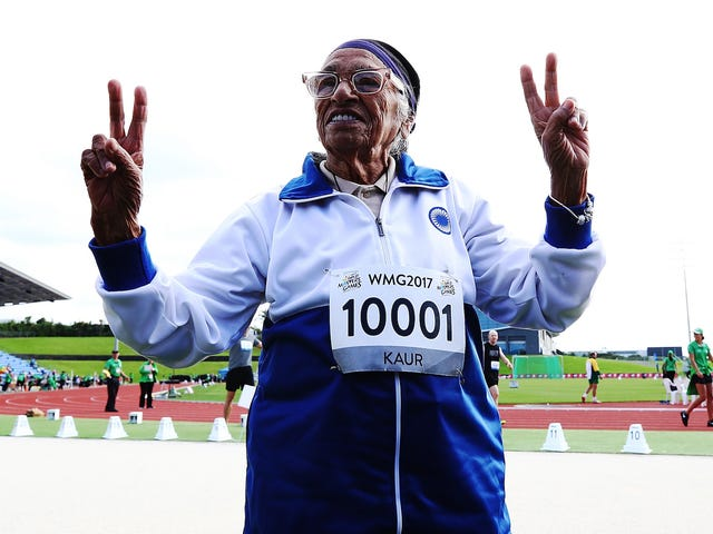 101-Year-Old Runner Wins 100-Meter Gold