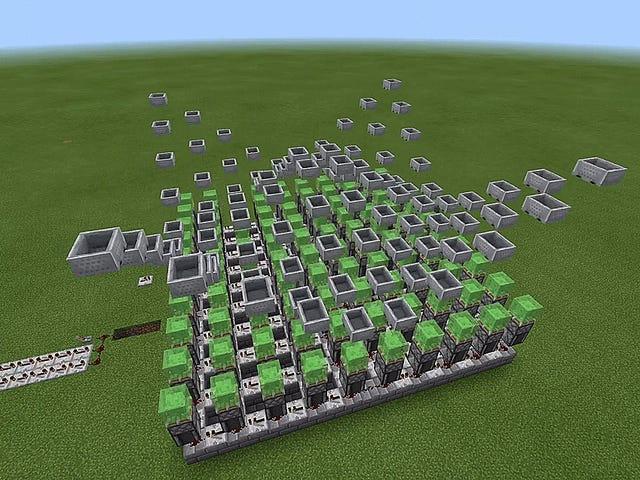 Diese <i>Minecraft</i> Wave-Maschinen sind äußerst zufriedenstellend anzusehen