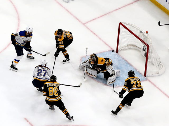 What The Hell Was Brad Marchand Doing On The Game-Winning Goal?