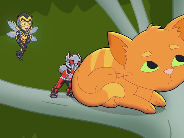 Ant-Man and The Wasp Face a Hairy Problem in This Adorable Marvel Super Hero AdventuresShort