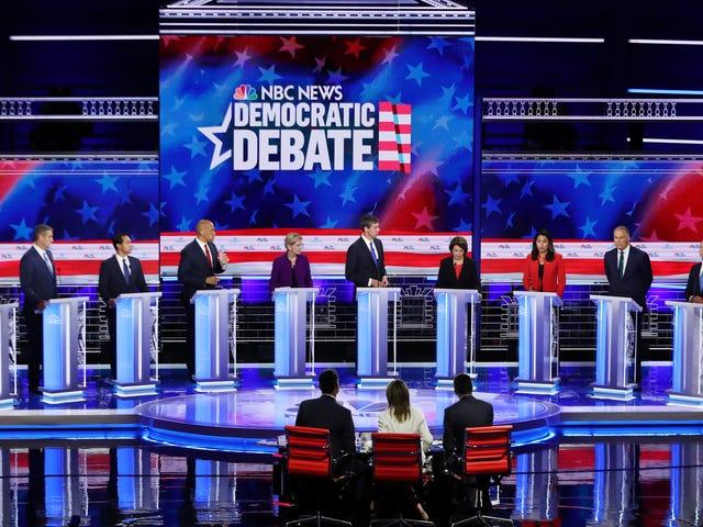 Voici ce que vous avez manqué lors de la première journée des débats présidentiels démocratiques