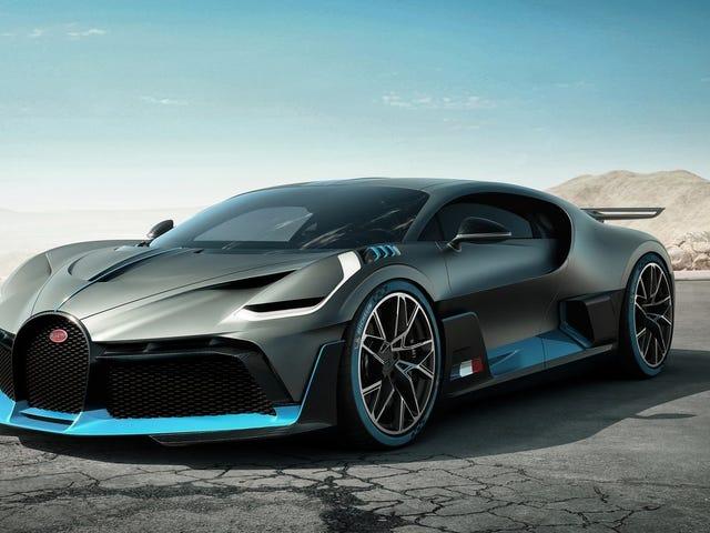 Den gjennomsnittlige Bugatti-kunden har 42 biler hjemme